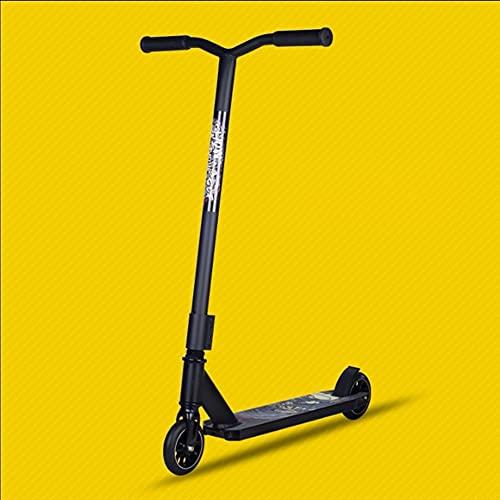 angroups Patinete Stunt Scooter Freestyle Adulto niños con Conexión HIC System Aluminio Ligero Cubierta Y Slido Core Ruedas PU 110 mm RodamientosABEC-9 Manillar Rotación 360°,150kg Carga