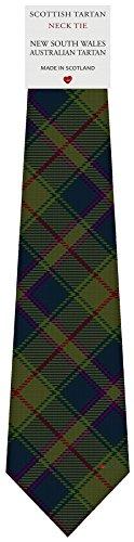I Luv Ltd Cravate en Laine pour Homme Tissée et Fabriquée en Ecosse à New South Wales Australian Tartan