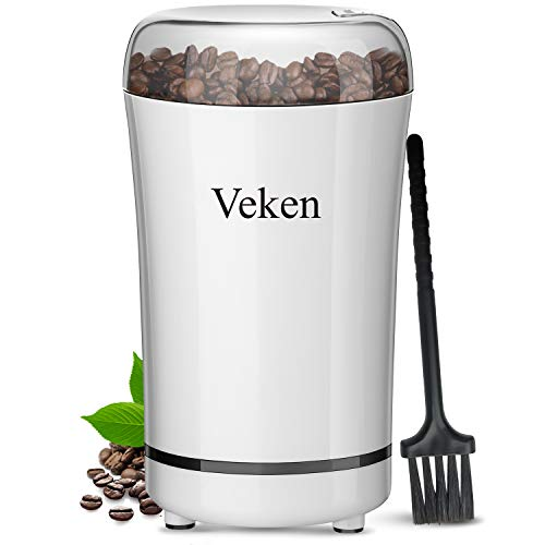 Veken Coffee Grinder Electric Spice & Nut...