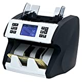 Demotio Bank Grade Mixed Money Counter MA-180S with 2CIS/MG/MT/UV/IR/Color Detection for USD, EUR, CNY and GBP Mixed Denomination Counting and SN Recognition with 2 Years' Manufacturer Warranty