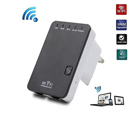 FASD WiFi Rang Extender, 300Mbps Wireless-Signal-Verstärker-Verstärker, Wireless-LAN Repeater/Access Point/Router und Ethernet-LAN / LAN-Anschluss