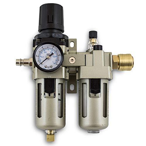 BITUXX® Druckluft Wartungseinheit Wasserabscheider Oeler 1/4