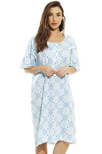 Just Love 4360-O-10062-2X Short Sleeve Nightgown/Sleep Dress for Women/Sleepwear