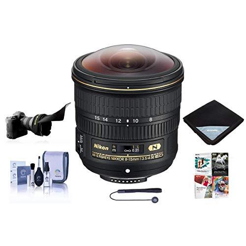 Nikon 8-15mm f/3.5-4.5E EDIF AF-S Fisheye NIKKOR Lens U.S.A. Warranty