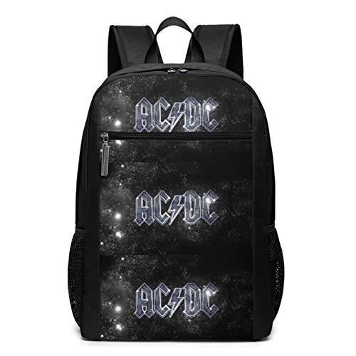 If You Want Blood popular AC-DC Stevie Young RADIO - Bolsa escolar cómoda 3D para adolescentes, niños, niñas, estudiantes de negocios, deporte, estudio