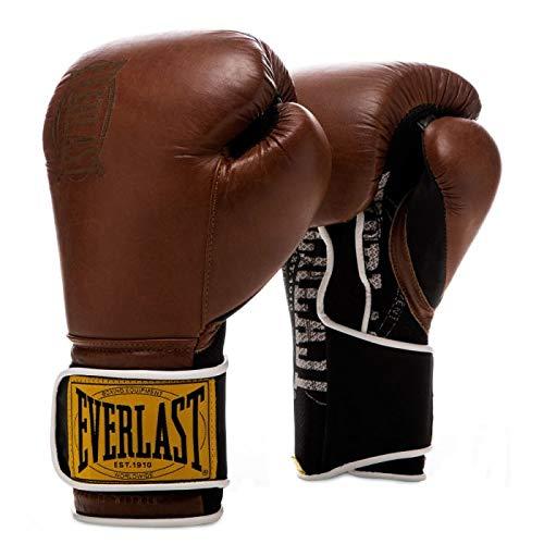 Everlast 1910 Classic Training Gloves (12 oz, Brown)