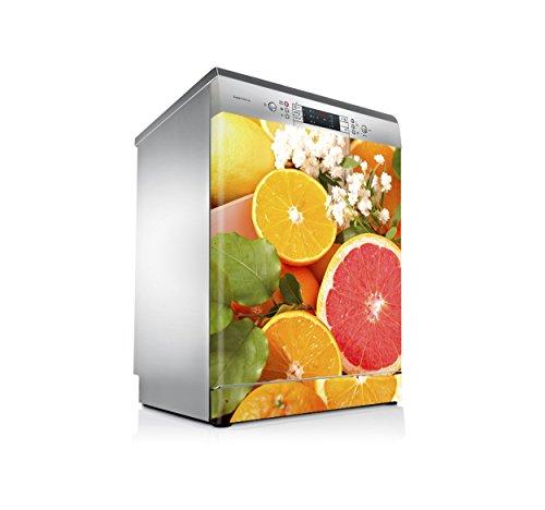 setecientosgramos Vinilo Lavavajillas   Stickers Dishwasher   Pegatina Lavavajillas   Naranja & Pomelo