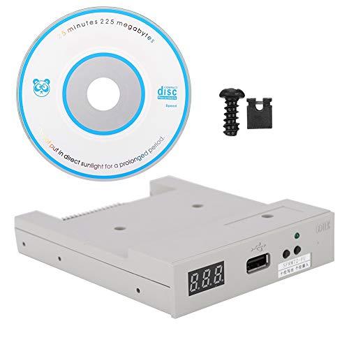 Exliy USB-SSD-Diskettenlaufwerk, SFRM72-FU USB-SSD-Diskettenlaufwerk-Emulator + CD-Schrauben, Plug & Play
