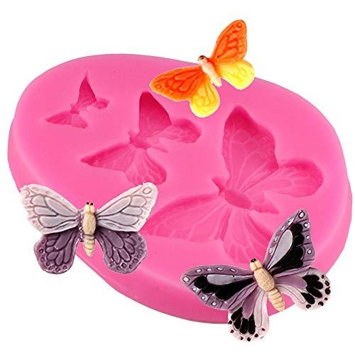 Generies en Forme De Papillon Fondant Gâteau Moule Moule en Silicone Ustensiles De Cuisson Cuisson Outils De Cuisson Sucre Cookie Jelly Pudding Décor