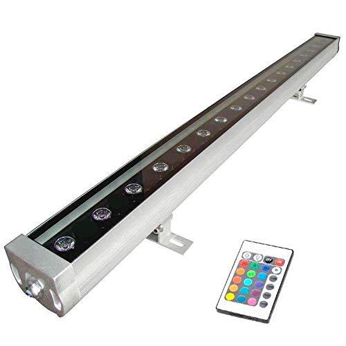 Proyector LED lineal, RGB TRILED-IR, 36W, 220V, 1m, RGB