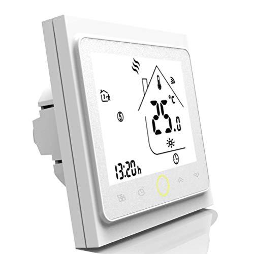 Qiumi Termostato Wifi para calefacción individual de calderas de gas/agua funciona con...