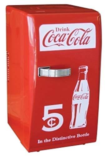 YYM Nuovo Coca Cola Coke Mini Frigo Compact Personal Frigorifero Ufficio Dormitorio Retro. # GH45843 3468-T34562FD192806