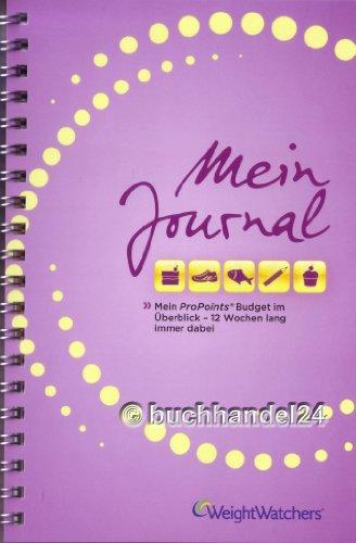 Weight Watchers ProPoints™ Plan 360° - 'Mein Journal' (12 Wochen) NEU 2014*