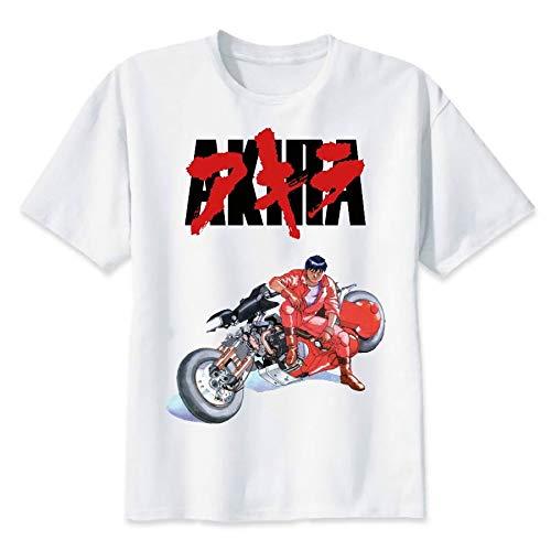 Akira T Shirt Mens Tokyo Cyberpunk Camisetas Tees Shirt Size:S-3XL