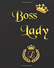Boss Lady: Retirement & Appreciation Gifts for Women and Professionals, Teachers Who Have Made a Big Impact on People's Lives. Gold Lettering Cover.