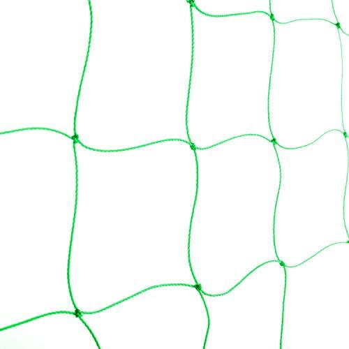 BED COTTON Ranknetz Premium mit Maschenweite(10 * 10cm), gewächshaus zubehör für den perfekten Wachstum von Gurken, Tomaten und Kletterpflanzen, Optimale Rankhilfe Netz für Garten – Größe 1.8 x 2.7m