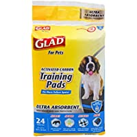 Glad Pets Heavy Duty Ultra-Absorbent Activated Charcoal Dog Training Pads
