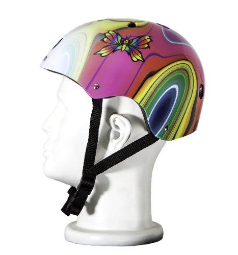 Punisher Skateboards 11-Vent Multi-Sport Skateboard and BMX Helmet