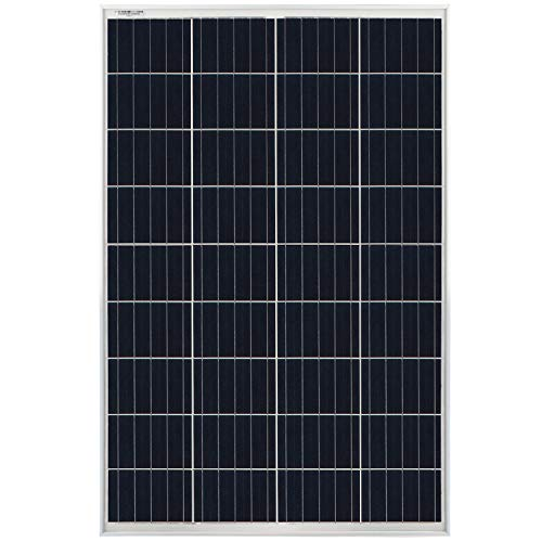 Mighty Max Battery 100W Off-Grid Polycrystalline RV Solar Panel