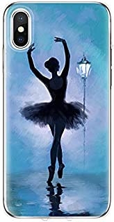 Maxlight Sexy Ballet Dancing Girls Ballerina Ballet Case for iPhone X Xs Max XR 6s 7 8 Plus (F, for iPhone 7plus 8plus)
