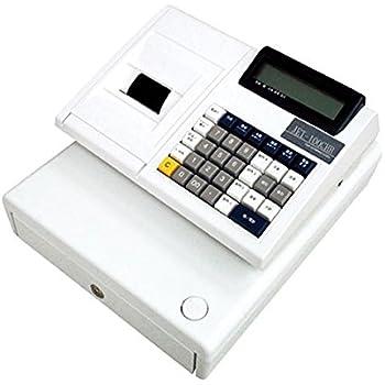 CLOVER 軽減税率/複数税率対応 JET-100CHR 普通紙 小型レジスター (ドロア分離型 2札6コイン 電池駆動可)