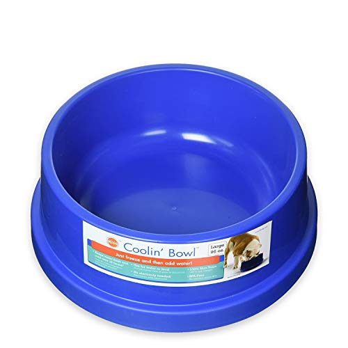 K&H Pet Products Coolin' Pet Bowl 96oz. Blue - Fresh Cool Water For Your Pet!