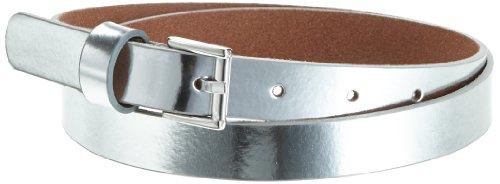 MGM Damen Gürtel 122-6732, Gr. 90, Silber (Silber hell)