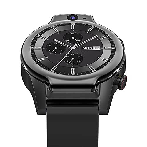 XYZK Brave Pro 4G Global Smart Watch 2021 4GB 64GB 2 Cámara 13MP 1600Mah Android 10 WiFi GPS IP68 Reloj Inteligente Impermeable,A