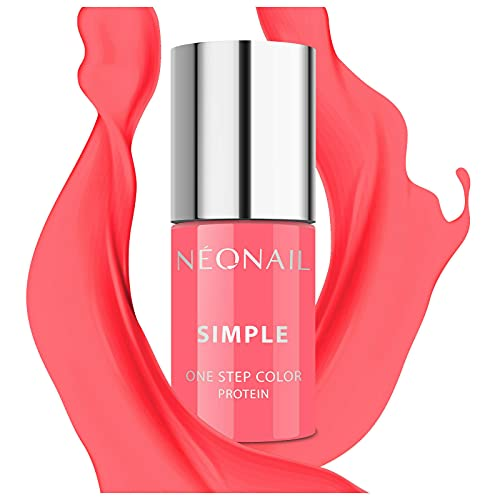 NEONAIL Pfirsisch XPRESS UV Nagellack 3in1 SIMPLE ONE STEP COLOR PROTEIN 7,2 ml CHILLIN 8140-7
