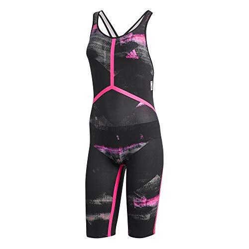 adidas Adizero XVIII Brustschwimmen Beinanzug, Costume da Bagno da Donna, Nero Shopin, 38