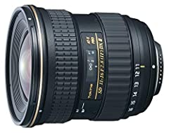 USA Version. 3 Year Tokina Warranty included. Intended for sale within the USA. Aperture Range: f/2.8 to f/22 Designed for Cameras with APS-C Sensors Two Aspheric Lens Elements Two Super-Low Dispersion Lens Elements Multi-Layer Coating 77mm Filter Th...
