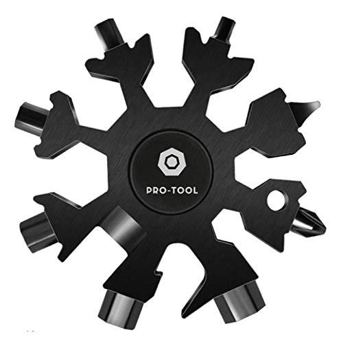 Fidget Spinner Snowflake Cool Multi Tool 18-in-1...