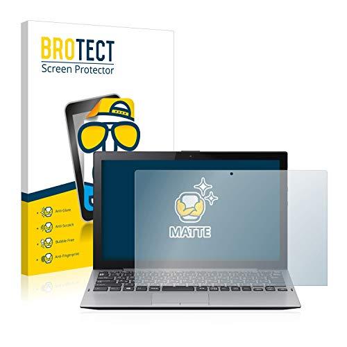 BROTECT Entspiegelungs-Schutzfolie kompatibel mit Sony Vaio A12 Bildschirmschutz-Folie Matt, Anti-Reflex, Anti-Fingerprint