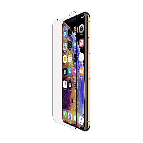 Belkin Protection d'écran ScreenForce InvisiGlass Ultra pour iPhone XS Max – Protecteur d'écran pour iPhone XS Max