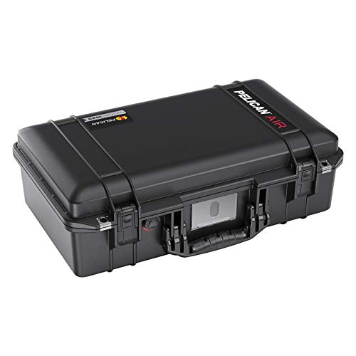 Pelican Air 1525 Case with Trekpack Dividers (2020 Edition with Push Button Latches) - Black...