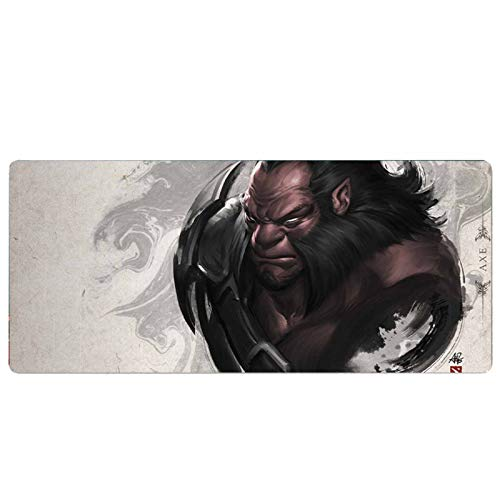 LOG Extended Gaming Mouse Mat,Professional Gaming Mouse Pad with Non-Slip Rubber Base and Stitched Edges Mousepad,Ideal for Gaming,Office and Learning 2-900x400x3