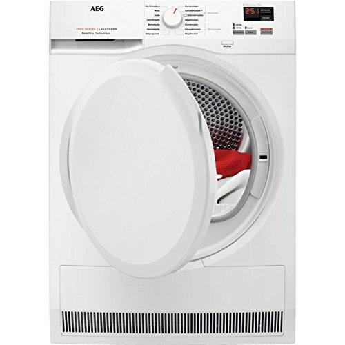 AEG T7DB40570 Wärmepumpentrockner / EEK A++ (211 kWh/Jahr) / 8 kg Schontrommel / Wäschetrockner mit energiesparender Wärmepumpe und Mengenautomatik / Knitterschutz für feine Textilien