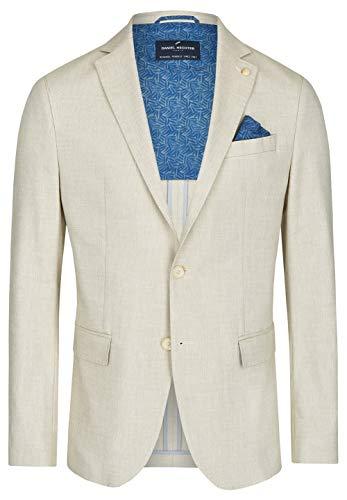 Daniel Hechter Jacket Party Vintage Blazer, Beige (Sand 410), 26 Uomo