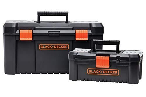 beyond by BLACK+DECKER Tool Box Bundle, 19-Inch & 12-Inch (BDST60129AEV)