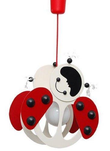 ItalPol Produkt Splendida lampada lampadario grande 33cm x 20cm cameretta bambini in legno.