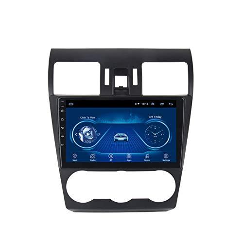 Dscam Auto Multimedia Player Android 9.1 Auto Navigation System 9 Zoll Touchscreen Autoradio für Subaru Forester 2012-2015 Unterstützt Bluetooth/Multimedia,2G+32G-Quad-core