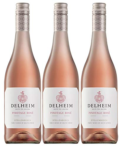 Delheim Pinotage Rosé Stellenbosch, Südafrika, Jahrgang 2020 (3 x 0,75 l)