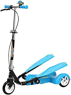 Smart Dual-Pedal Scooter for Kids Toys - Blue