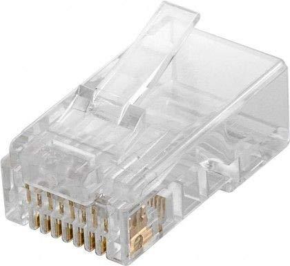 OEM Conector Rj45 Cat5e Utp Cable Redondo (Bolsa De 10 Und) 72500