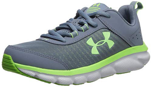 Product Image of the Under Armour Unisex-Youth Grade School Assert 8 Sneaker, Ash Gray (400)/Wire,...