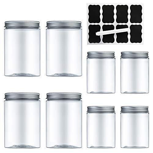 MEIXI Voratsdosen küche, Aufbewahrungsbox küche, Aufbewahrungsdose Aufbewahrungsbehälter mit luftdichtem Deckel Frischhaltedosen aus Kunststoff, BPA-frei, um Lebensmittel frisch zu halten
