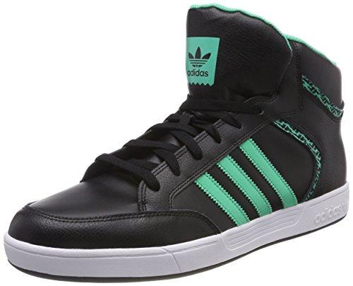 adidas Varial Mid, Scarpe da Skateboard Uomo, Nero (Cblack/Hiregr/Ftwwht Cblack/Hiregr/Ftwwht), 49 1/3 EU