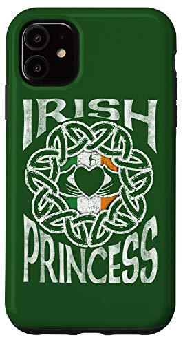 iPhone 11 Irish Princess Celtic Knot Claddagh Ring St. Patrick's Day Case
