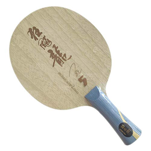 Lowest Prices! DHS Hurricane Long V (5 Wooden + 2 Arylate-Carbon) OFF++ Table Tennis Blade for Ping ...