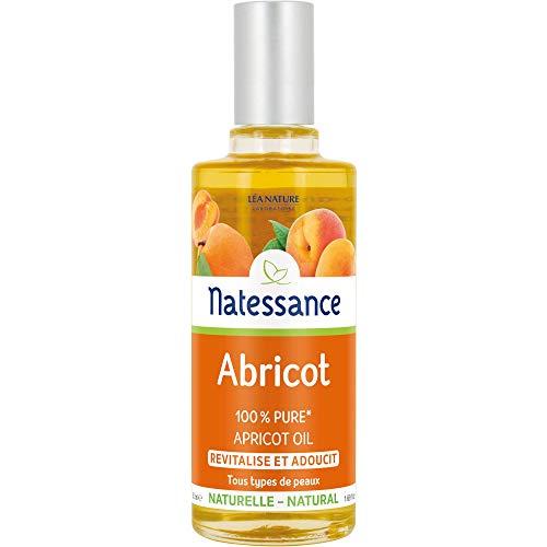 NATESSANCE Huile d'Abricot Revitalisante 50 ml - Lot de 2